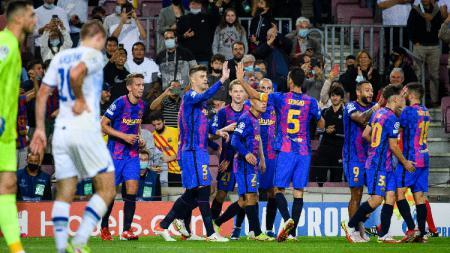 Barcelona Akhirnya Menang di Liga Champions, Ronald Koeman Sesalkan Hal Ini. - INDOSPORT
