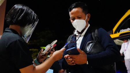 Pelatih Barito Putera, Djajang Nurdjaman. - INDOSPORT