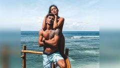Indosport - Vincent Verhaag dan Jessica Iskandar.