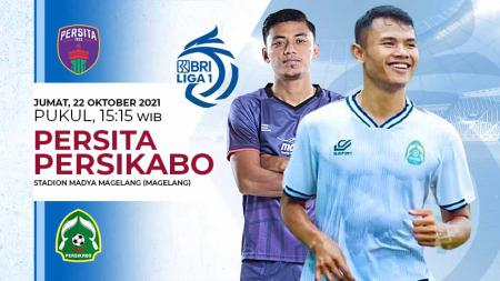 Pertandingan antara Persita Tangerang vs Persikabo (Liga 1 BRI). - INDOSPORT
