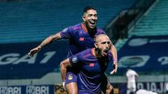 Indosport - Pesta Gol, Persik Temukan Reinkarnasi Duet Maut Cristian Gonzales-Danilo Fernando.