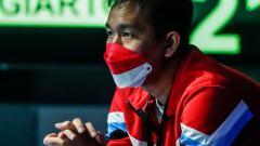 Indosport - Hendra Setiawan di Denmark Open 2021