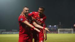 Indosport - Hasil Pertandingan Liga 1 Madura United vs Persija Jakarta: Pesta Gol Macan Kemayoran
