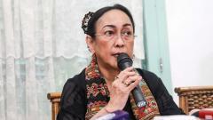 Indosport - Putri Bung Karno, Sukmawati Soekarnoputri.