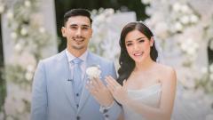 Indosport - Pernikahan Jessica Iskandar dan Vincent Verhaag.