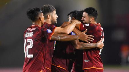 Borneo FC vs PSM Makassar di Liga 1. - INDOSPORT