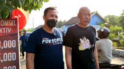 Sosok pria yang diduga mantan atlet voli nasional asal Jawa Timur dijemput oleh kepolisian.