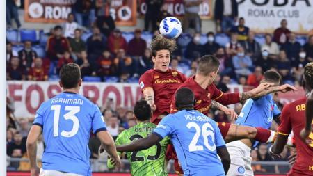 Liga Italia AS Roma vs Napoli - INDOSPORT
