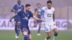 Indosport - Hasil Liga Prancis Marseille vs PSG: Messi Starter, Les Parisiens Gagal Menang