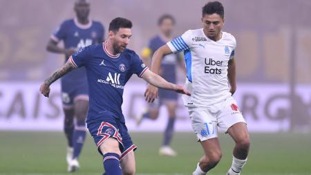 Marseille vs PSG - INDOSPORT