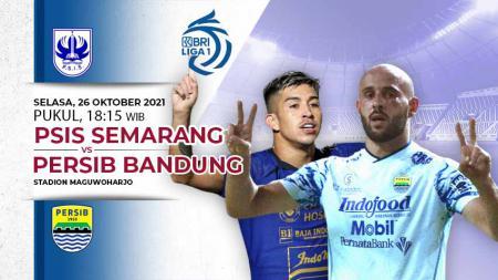 Prediksi pertandingan pekan kesembilan Liga 1 2021-2022 antara PSIS Semarang menghadapi Persib Bandung di Stadion Maguwoharjo, Sleman, Selasa (26/10/21). - INDOSPORT