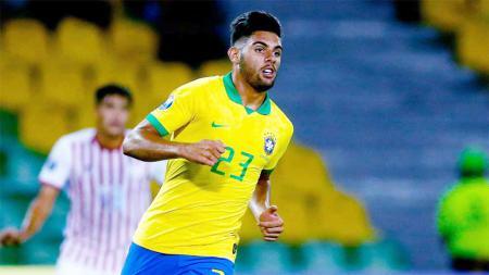 Yuri Alberto, striker muda Brasil incaran AC Milan. - INDOSPORT