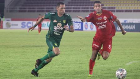 Duel Persija vs Persebaya di Liga 1 2021. - INDOSPORT