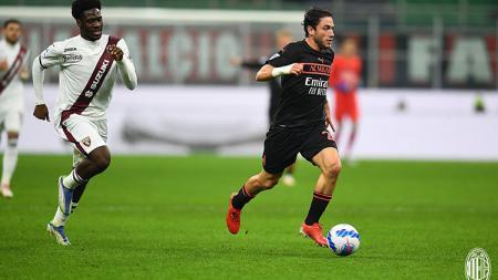 AC Milan vs Torino di Liga Italia. - INDOSPORT