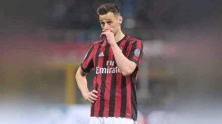 Nikola Kalinic saat masih di AC Milan. - INDOSPORT