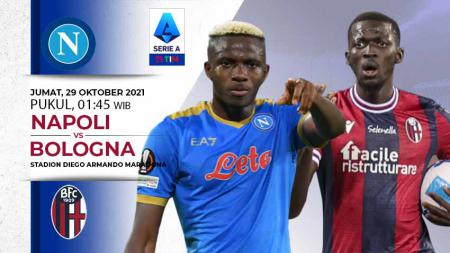 Prediksi pertandingan Serie A Liga Italia antara Napoli vs Bologna, Jumat (29/10/21) dini hari WIB. - INDOSPORT