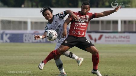 Gelandang asing Bali United, Eber Bessa, di Liga 1. - INDOSPORT