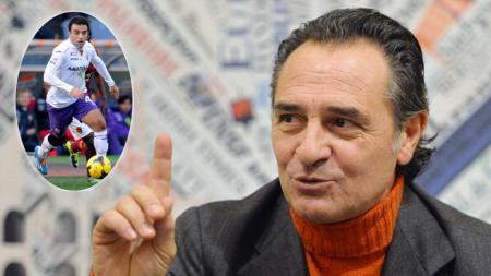 Cesare Prandelli tidak ingin mengambil risiko dengan membawa Giuseppe Rossi. - INDOSPORT