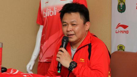 Legenda bulutangkis Indonesia, Lius Pongoh. - INDOSPORT