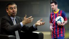 Indosport - Kehadiran Victor Font yang bakal menjadi presiden pengganti Josep Maria Bartomeu bisa membuat Barcelona dan Lionel Messi bahagia.