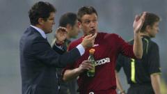 Indosport - Antonio Cassano saat masih bermain di AS Roma.