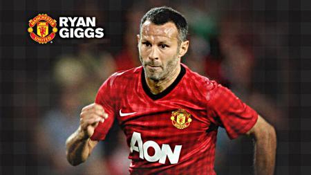 Ryan Giggs adalah salah satu pencetak gol tertua di Liga Inggris. - INDOSPORT