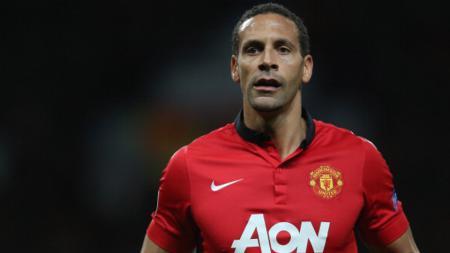 Rio Ferdinand di musim terakhirnya bersama Manchester United, 2013/2014. - INDOSPORT