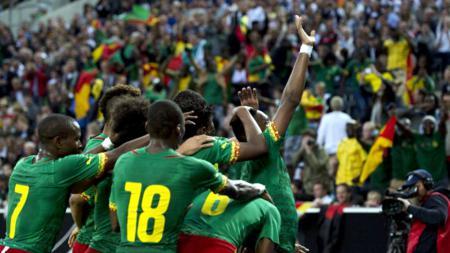 Pemain Kamerun. - INDOSPORT