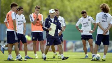 Alejandro Sabella mengumumkan 23 pemain Argentina untuk Piala Dunia 2014.