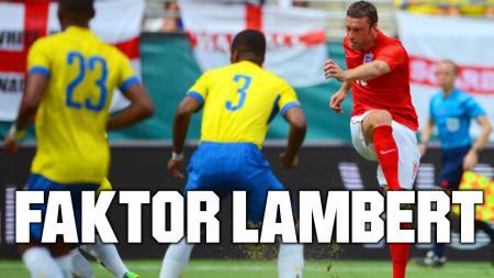 Rickie Lambert berperan dalam terciptanya dua gol Inggris ke gawang Ekuador. - INDOSPORT
