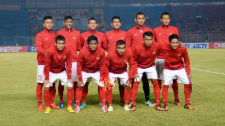 Pasukan Garuda Indonesia U-19. - INDOSPORT