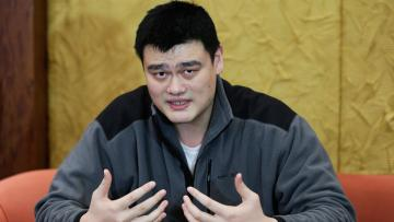 Yao Ming legenda basket China, eks pemain Houston Rockets.