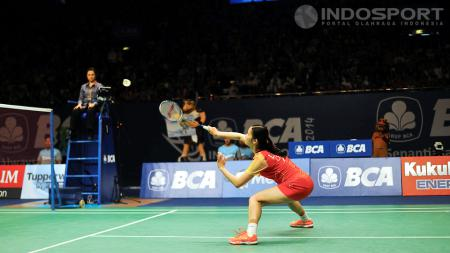 Li Xuerui (China). - INDOSPORT