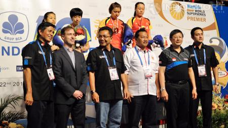 Penyelenggaraan Indonesia Open Super Series 2014 dinilai sukses. - INDOSPORT