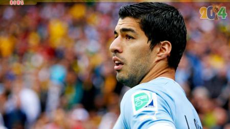 Pemain Timnas Uruguay, Luis Suarez. - INDOSPORT