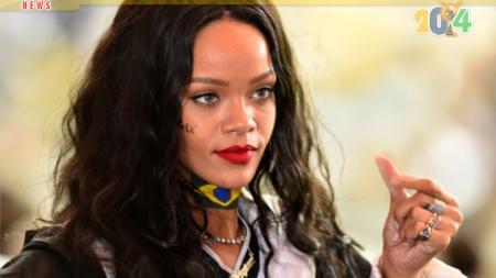 Rihanna menonton langsung ajang Piala Dunia. - INDOSPORT