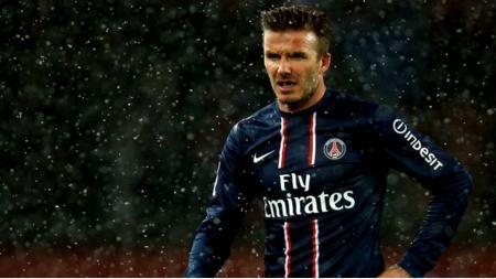 Tujuh tahun yang lalu, David Beckham hijrah dari MLS ke Ligue 1 Prancis untuk bergabung bersama PSG. - INDOSPORT