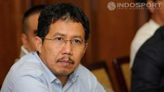 Indosport - Mantan Plt Ketum PSSI Joko Driyono.