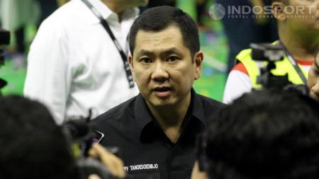 Hary Tanoe saat menghadiri MNC Futsal Championship 2014. - INDOSPORT
