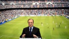 Indosport - Gagas Liga Super Eropa, Florentino Perez yang juga presiden Real Madrid menggoda para tim partisipan kompetisinya subsidi berjumlah fantastis! Pantas saja UEFA dikhianati.