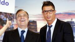 Indosport - Florentino Perez dan Cristiano Ronaldo