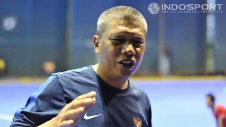 Pelatih timnas futsal Dadang Iskandar - INDOSPORT