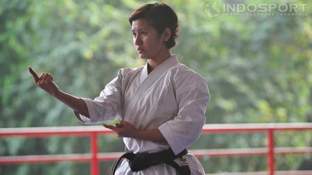 Atlet karate. - INDOSPORT