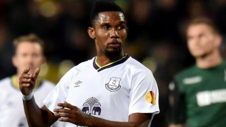 Samuel Eto'o resmi mengumumkan pensiun dari dunia sepak bola pada Sabtu (7/9/19). - INDOSPORT