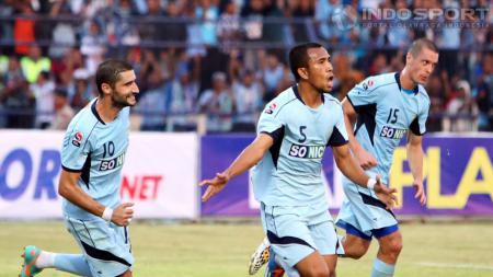 Persela Lamongan berhasil mengalahkan Arema dalam Derby Jatim di Stadion Surajaya, Rabu (11/07/12) silam. - INDOSPORT