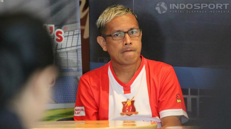 Vennard Hutabarat (Mantan Pemain Futsal Nasional), Gatot Widhiyanto (Businus Director Children Media Kompas Gramedia), Michael Hartono (Marketing Communication Director McDonals, Doni Zola (Ketua Futsal Comittee Mcdonals Junior Futsal) pada acara konferen Copyright: Herry Ibrahim/INDOSPORT