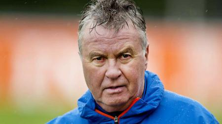 Guus Hiddink dipecat dari Timnas China U-23. - INDOSPORT