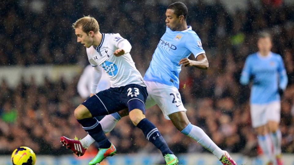 Manchester City Vs Tottenham Hotspur Copyright: GETTY IMAGES