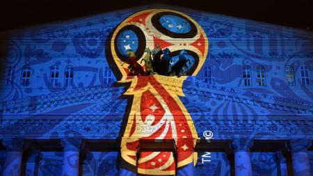 Ilustrasi logo Piala Dunia 2018. - INDOSPORT