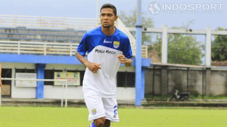 Striker asal Brasil Maycon Calijuri, yang pernah seleksi di Persib Bandung. - INDOSPORT